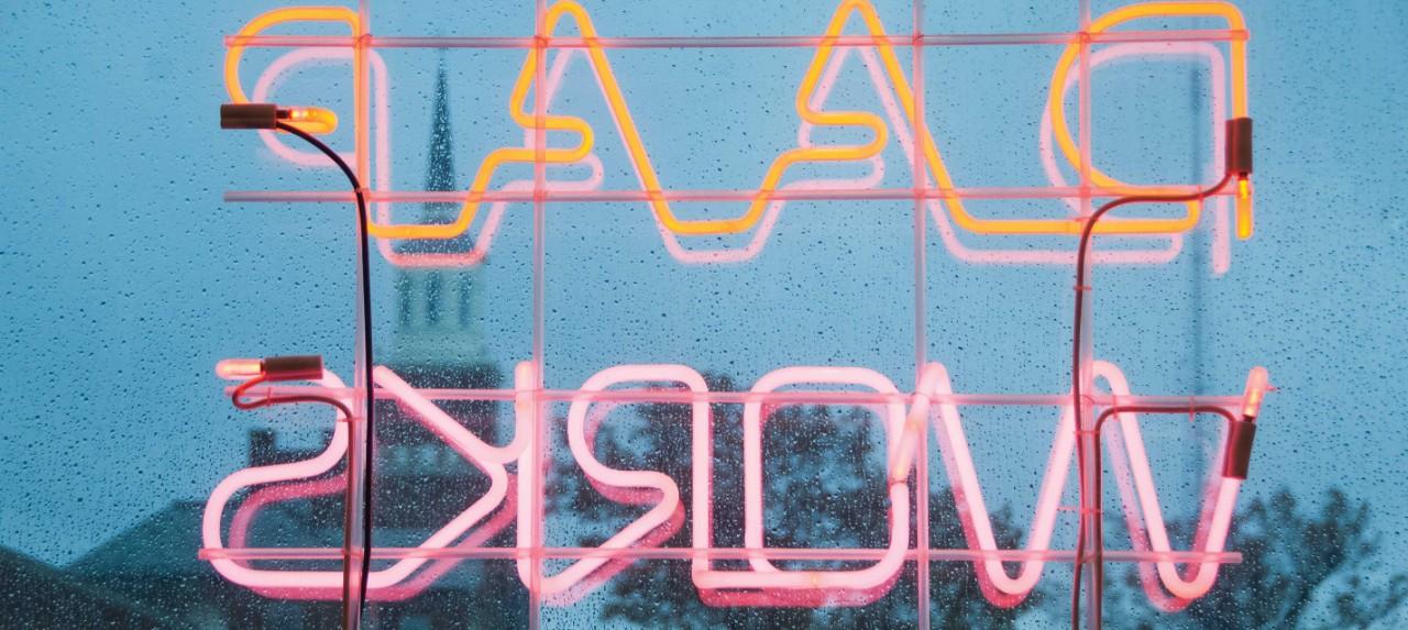 DAAP WORKS Neon light sign